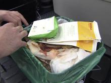 Composting business swaps soil for scraps