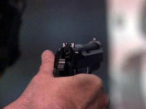Gun range, gunfire, firearm, handgun