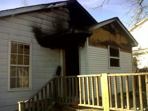 A Granville County firefighter was on his way to work Wednesday morning, Jan. 4, 2012, when he saw smoke coming from this home, at 4698 U.S. Highway 15 in Oxford, and saved two brothers inside the burning house, according to county emergency officials.