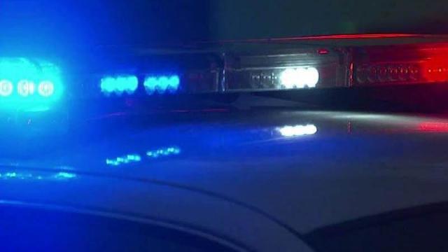 Police lights generic, blue lights