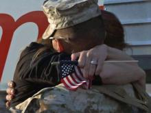 Marines return to joyful welcome