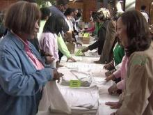 Triangle residents use MLK Day for service