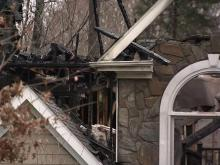 Fire destroys Wake Forest home, kills dog