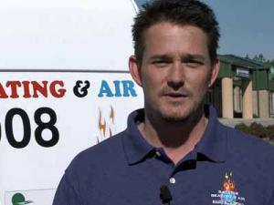 Raleigh Heating and Air service manager Brian Barber said the business has seen a 20 percent drop this year due to the unseasonably warm weather.