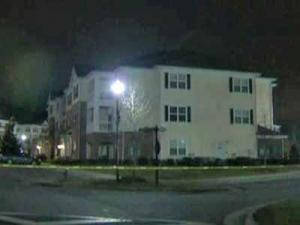 A Raleigh police officer was shot at an apartment complex in the 9300 block of Bothwell Street in Raleigh on Feb. 6, 2012.