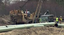 IMAGE: Gas line construction tearing up yards across Johnston