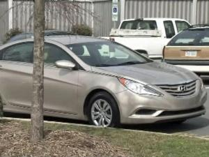 Raleigh police say this getaway car was used in the Feb. 17, 2012, robbery of Bailey's Fine Jewelry in Raleigh.