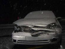 Cars skid, spin and slide on I-40 near Cary