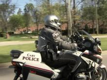 Cary officer back to work after near-fatal wreck