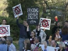 Chapel Hill: 'No fracking, no way'