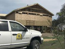 Baptist Men building homes for Irene victims