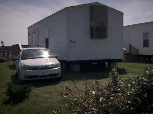 Seven months after Hurricane Irene hit the North Carolina coast, more than 100 families are still living in emergency trailers provided by the government.