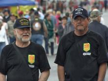 Veterans enjoy overdue honor