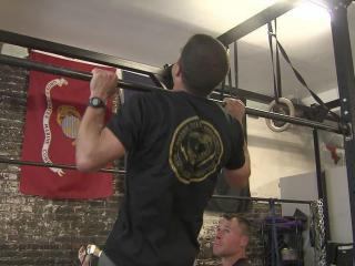 CrossFit's Workout of the Day Saturday honored and raised money for a Raleigh police officer injured in the line of duty.