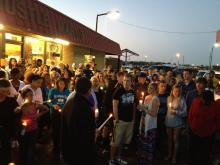 Hundreds attend vigil for Farmville shooting victims