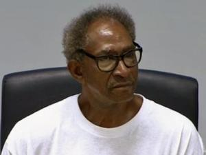 Willie James Grimes testifies before the North Carolina Innocence Inquiry Commission on April 3, 2012.