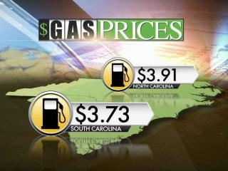 Gas prices are lower in South Carolina, where the tax structure is different.
