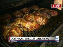 Durham Rescue Mission prepping for Easter dinner