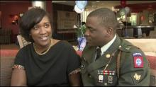 IMAGE: Morrisville hotel thanks couple for service at war, at home