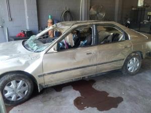 Britinae Rachelle Whitehead, 21, was found dead inside a gold 1994 Honda on April 12, 2012.