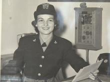WWII vet Janice Gravely