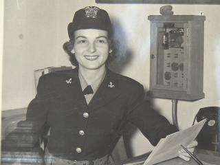 Janice Gravely, 90, of Rocky Mount, served on board a Naval Air Station in Olathe, Kan., and Dallas, Texas, during World War II.