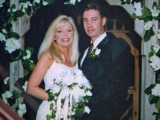 Theresa Morehead and Master Sgt. Kevin Morehead
