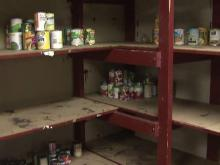 Raleigh Salvation Army faced with nearly bare shelves