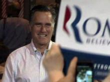 Charlotte crowd cheers Romney
