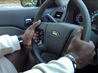 To avoid injury from a deploying airbag, experts recommend that drivers place their hands in a lower position, at 8-and-4 o'clock or 9-and-3 o'clock.