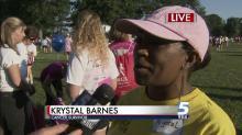 Krystal Barnes, cancer survivor