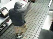 Pair sought in fast-food robberies