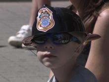 The Raleigh Fire Department celebrated 100 years with a parade through downtown.