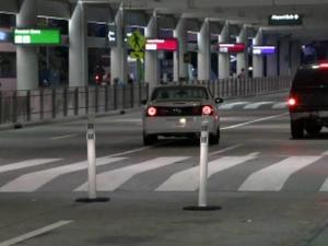 A 70-year-old Durham woman was hit by an SUV outside Terminal 2 at Raleigh-Durham International Airport on June 18, 2012.