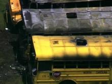 Buses catch fire at Lee County Schools garage
