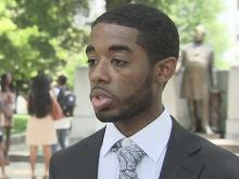 Man speaks publicly about claim of racial discrimination