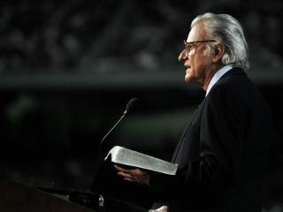 Rev. Billy Graham preached to millions of people worldwide over seven decades. (Photo courtesy of Billy Graham Evangelistic Association)
