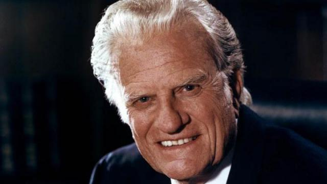 Rev. Billy Graham (Photo courtesy of Billy Graham Evangelistic Association)