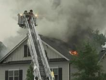 Storms down trees, spark fires across Wake County