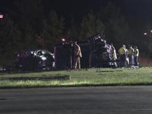 Two killed in wrong-way crash on I-40