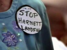 Fight over Harnett County landfill goes to court