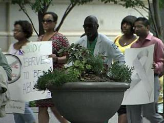 Silent march brings awareness to domestic violence