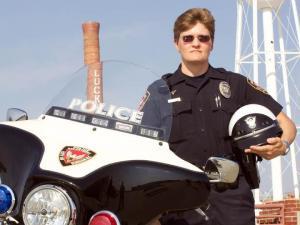Durham police Officer Teresa Gilliam