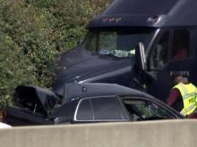 Durham police car crash