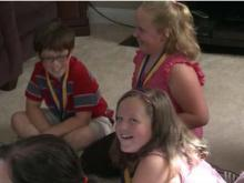 Garner children receive medals for quick thinking