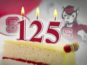 NC State is celebrating its 125th birthday this year.