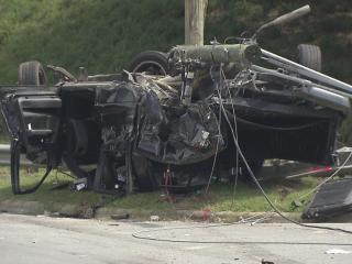A high-speed chase and shootout early Monday in Clinton sent six people to the hospital, including a husband and wife whom authorities said were innocent victims in the chaos.
