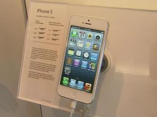 Customers lined up for hours around the Triangle to be the first to get their hands on Apple's new iPhone 5.