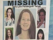 Terry Pendergraft Tersak, 33, disappeared while traveling from Asheville to Raleigh on June 1, 2009.