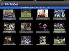 Image gallery in new iPad app